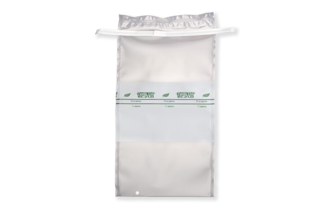 Estudio de biodegradabilidad de bolsas de muestreo.